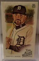 2019 Topps Allen & Ginter NICHOLAS CASTELLANOS SP Mini No Number TIGERS REDS /50