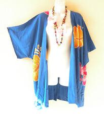 CB285 Kimono Cardigan Duster Kaftan Tunic Jacket Coverup Top 2X, 3X, 4X & 5X