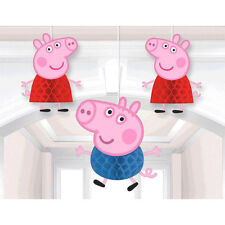 Peppa Pig Party Supplies HONEYCOMB DECORATIONS Genuine Licensed