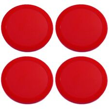 "4pcs 63mm 2.5"" 13g New Red Air Hockey Table Lot of 4 Pucks USA Seller DURABLE!"