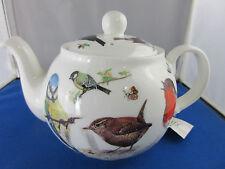 Garden Birds from Roy Kirkham. made in England 6 Cup Tea Pot.Fine Bone China