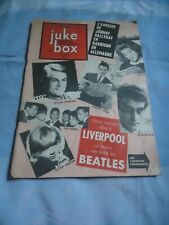 JUKE BOX 92/64 JOHNNY HALLYDAY TH BEATLES COGOI PRESLEY CINQUETTI ADAMO AUFRAY
