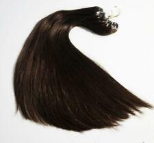 """1G Double Drawn 16"""" 18"""" 20"""" 22"""" 24"""" Micro Ring  Easy Loop Human Hair Extensions"""
