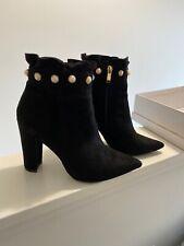 Ladies Black Ankle Boot UK 6