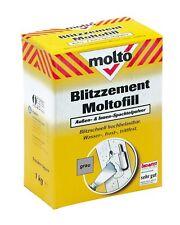 MOLTO Blitzzement Moltofill Grau Außen + Innen 1 Kg