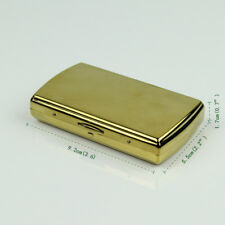 Mini cigarette case holder box made by copper can contain 12cigarettes,CC06