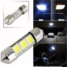 Durable 36mm 3SMD 5050 LED Pure White Car Festoon Map Interior Dome Light 12V