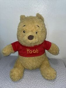 build a bear winnie the pooh plush 14 Inch  Great Condition