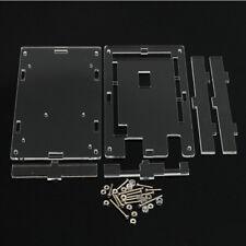 1PCS For Arduino MEGA 2560 R3 Transparent Acrylic Case Shell Protective Box US