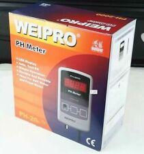 weipro PH2010 PH2010A Ph Meter Value Controller with Probe marine fresh aquarium