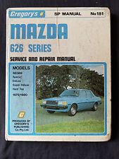 ***GREGORY'S MAZDA 626 SERIES 1979 -1980 SERVICE REPAIR MANUAL NO 181***