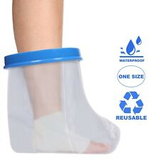 Adult Foot & Ankle Waterproof Cast & Dressing Cover   Protector   Latex Free
