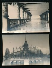 Thailand BANKOK King's Palace 2 c1920/30s RP PPCs