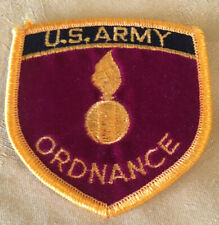 United States U.S. Army Ordnance Hat Patch New Never Applied