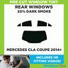 Pre Cut Window Tint - Mercedes CLA Coupe 2014+ - 20% Dark Rear