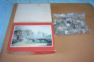 """ABYDOS 308 PIECE VINTAGE JIGSAW: """"THE LOWER WARD OF WINDSOR CASTLE"""""""