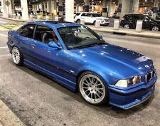 BMW E36 M3 2 & 4 Door Side Skirt & Rear Bumper Extension Splitters