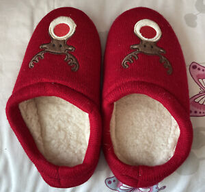 Ladies Christmas Slippers Size 5/6 worn once
