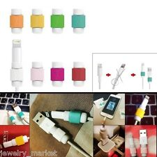 3X Charging Cable Data Line Protective Case Cover For iPhone - Random Color