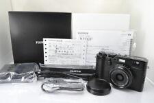 [MINT+++]FUJIFILM X100F 24.3 MP 23mm Digital Camera In Black w/Box From Japan
