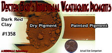 Dark Red CLAY Weathering Pigment 2oz-Doctor Ben's PLASTIC/METAL/HYDROCAL On3