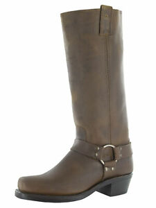 Frye Womens Harness 15R Tall Pull On Square Toe Boots