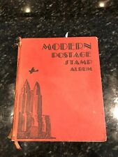 Modern Postage Stamp Albums of Worldwide Stamps 1938 Printing, Scott Publishing