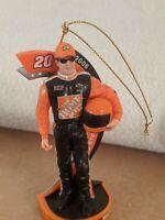 Tony Stewart #20 Home Depot Nascar Racing 2006 Figurine Christmas Tree Ornament