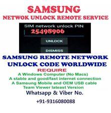 REMOTE UNLOCK Code SERVICE T-MOBILE SAMSUNG GALAXY S2, S3, S4