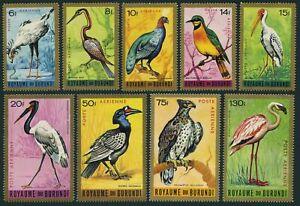 Burundi C8-C16,MNH.Michel 158-166. 1965.Anhinga,Peacock,Flamingo,Eagle,Stork