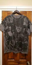 WWE WWF Undertaker All Over Shirt L Wrestling WCW ECW RARE