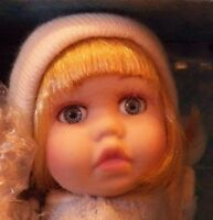 "Show-Stoppers Inc. 5"" Porcelain Doll Boy Kneeling Praying ""Tom"" NIB"