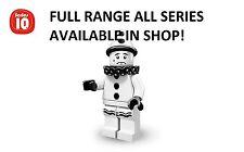 LEGO MINIFIGURES SAD CLOWN SERIE 10 (71001) non aperto nuova fabbrica SIGILLATI