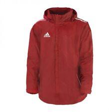 adidas Core 11 Regenjacke rot Gr. 10 = XL Windbreaker Rain Jacket Jacke NEU OVP