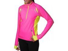Abbigliamento sportivo da donna neri di alta visibilità in poliestere