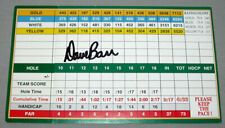 Official Original  PGA Dave Barr Signed Glen Abbey Scorecard