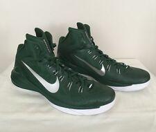 $140 Men NIKE 2014 HYPERDUNK Basketball Shoes Sneakers 685777 301 GREEN WHITE 18