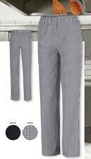 JB's Wear Ladies Classic Fit Elasticated Chef's Pants with Hidden Patch Pocket
