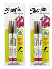 Sharpie Oil-Based Paint Markers, Fine Point, Assorted Metallic, 4 Count