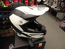 6D ATR-1 Wedge Black/White  Helmet XLrg  Omni Directional Technology  01-9526