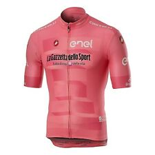 Maglia rosa pink jersey CASTELLI Giro Italia 2019 Team Squadra SIZE L € 84,95 !!