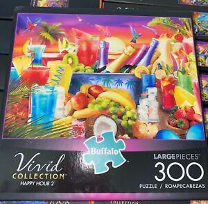Buffalo Games - Happy Hour 2-300 Piece Jigsaw Puzzle