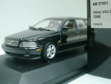 WOW EXTREMELY RARE Volvo V40 Break 2.0 16V 1996 Black 1:43 Minichamps-850/V70/ES