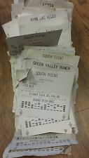 Sports Betting Tickets $60240 Wagered 2007 Las Vegas Casinos High Roller