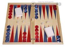 Dal Negro Wood Backgammon Set - Itaca - Classic Board Game