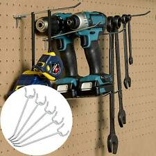 100pcs 10cm Metal Pegboard Hooks Pegboard Display Hook Store Supermarket Hanger