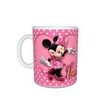 Personalised Name Disney Minnie Mouse Mug Birthday, Christmas Gift, Size 11oz