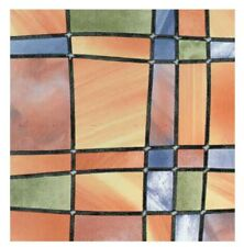 Bunte Fensterfolie Barcelona Adhesive - Klebefilm Bleiglas Look 0,45 m x 2 m