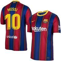 Barcelona Home Jersey Messi Men's Medium Champions League 2020/2021 Season