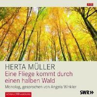 """HERTA MÜLLER: EINE FLIEGE KOMMT DURCH DEN ..."""" CD NEW"""